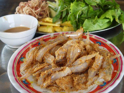 Gỏi cá mai - Du lịch Nha Trang
